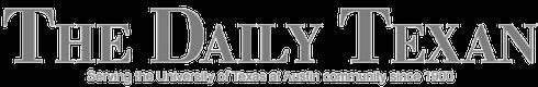 white daily texan online logo
